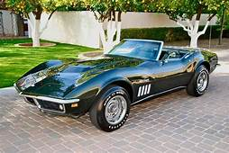 Fathom Green 1969 Chevrolet Corvette Stingray Convertible