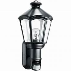 steinel sensor lighting steinel sensor lighting l 562 s classic lantern wall light with 140