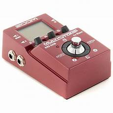 Zoom Ms 60b Multistomp Bass Guitar Effects Pedal Reverb