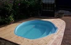 mini pool terrasse gfk schwimmbecken fertig schwimmbecken fertig pool