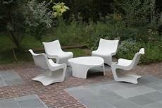 Mobilier De Jardin En Pvc Blanc Mailleraye Fr Jardin