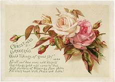 vintage christmas roses image the graphics