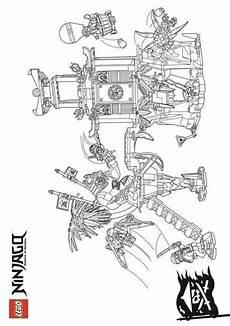 ninjago ausmalbilder roboter