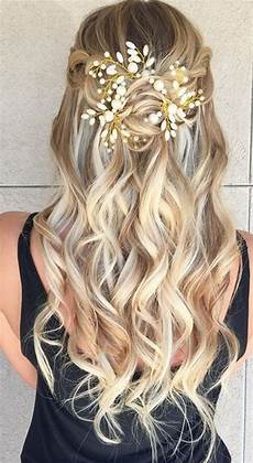 Half Up Half Wedding Hairstyles 33 Inspirational Ideas