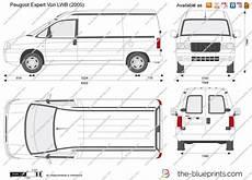 The Blueprints Vector Drawing Peugeot Expert Lwb