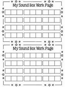 elkonin sound boxes template word family word work kindergarten lessons cvc words first