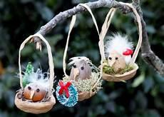 Easy Bird Nest Ornaments Hgtv
