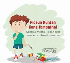 Iklan Layanan Masyarakat Bahasa Sunda Beserta Gambarnya