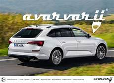 2020 skoda octavia imagined rendering