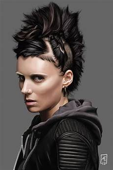 the girl with the dragon tattoo by aedrian on deviantart