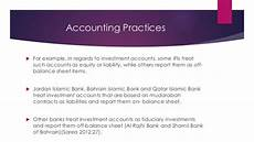 issues and concerns in the financial reporting of islamic banks a ca