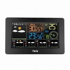 Digital Alarm Clock Temperature Humidity Weather by Fanju Fjw4 Digital Alarm Clock Weather Station Wifi Indoor