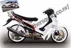 Modifikasi Smash 2004 by Motor Sport Gambar Modif Suzuki Smash 110 Keren Terbaru 2014