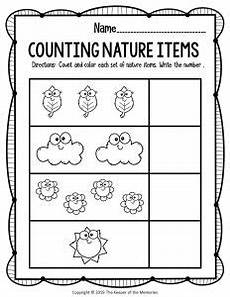 nature printable worksheets for preschool 15119 kindergarten worksheets the keeper of the memories