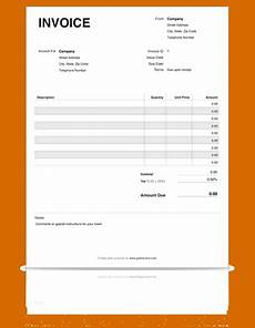 printable invoice receipt template free printable invoices templates blank printable