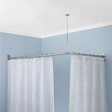 Shower Curtain Rod For Corner Shower