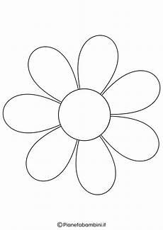 fiori da colorare per bambini 81 sagome di fiori da colorare e ritagliare per bambini