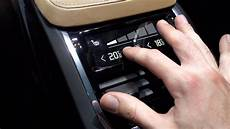 new volvo xc90 rear climate controls