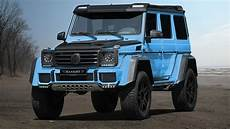Mercedes G 4x4 - mansory introduces one mercedes g500 4x4