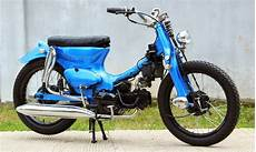 Modifikasi Motor Pitung by Honda C70 Pitung Modifikasi Paling Keren Foto Dan Gambar