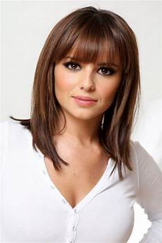 15 cute medium hairstyles with bangs 2018 2019 haircuts