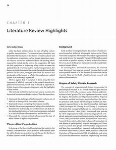 chapter 1 literature review highlights improving