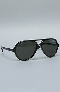 ban the 59mm cats 5000 sunglasses in black polarized