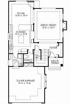 perfect for a narrow lot narrow house plans garage