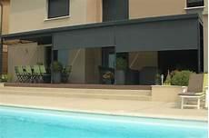 brise vent enrouleur pour terrasse brise vue r 233 tractable brise vent brise soleil vivez
