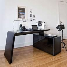 Eck Pc Schreibtisch Cigemba In Schwarz Aus Glas Wohnen De