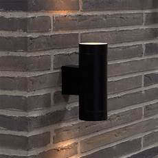 nordlux tin maxi double outdoor wall light black