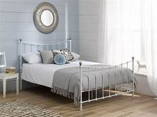 White Metal Bed Bedroom Ideas by White Metal Bed Frame S Bedroom