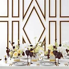 wedding colors black white and gold martha stewart weddings
