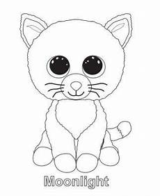 Malvorlagen Hunde Ide Beanie Boo Moonlight Coloring Pages Coloring Page
