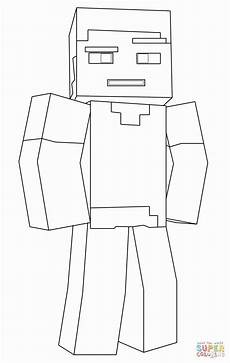 Malvorlagen Minecraft Steve Minecraft Malvorlagen Steve In 2020 Malvorlagen