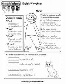 english worksheet free kindergarten english worksheet for kids