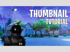How to create Fortnite Video thumbnails (with Template
