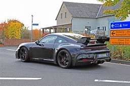 2020 Porsche 911 GT3 Spied In Near Production Bodywork