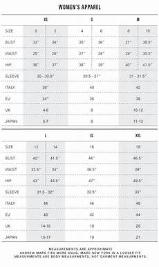 Armani Exchange Shoes Size Chart Size Amp Fit Andrew Marc