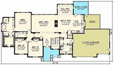 sprawling craftsman ranch house plan 89922ah 1st floor