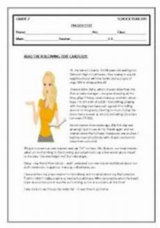 grammar exercises for grade 7 19266 test grade 7 esl worksheet by coasvaf