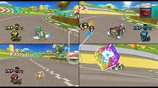 Mario Kart Wii Luigi Circuit 3 Player Netplay Race 60fps