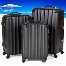 Koffer Set Kaufen - tectake 174 3 teiliges reisekofferset globus warenhandel