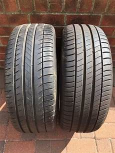205 45 r17 88v michelin part worn tyres 7mm tread