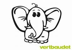 malvorlage elefant einfach 6 ausmalbilder fur euch