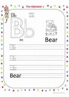 the alphabet letter b worksheet free esl printable worksheets made by teachers