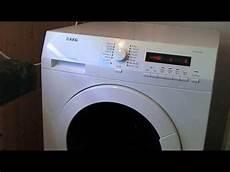 Aeg Lavamat Protex L75480 Washer Dryer Faults