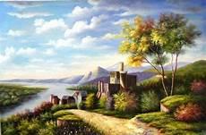 19 Karya Lukisan Pemandangan Seni Rupa