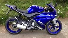 yamaha yzf r125 matt grey race blue