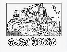 Deere Malvorlagen Pdf Ausmalbild Traktor Deere